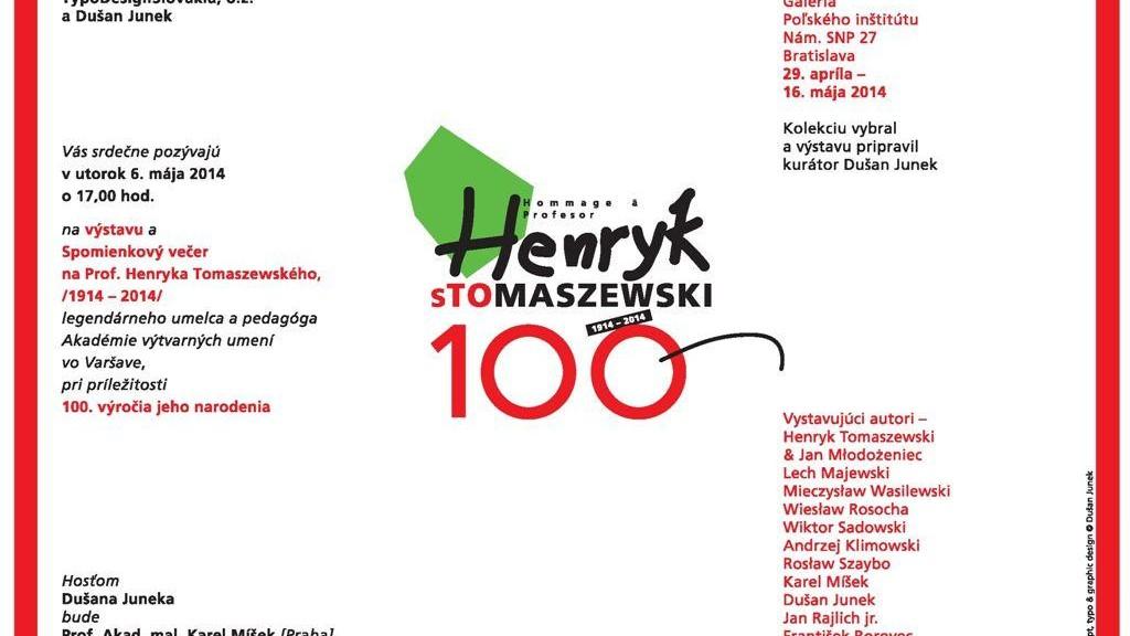 Pozvanka Tomaszewski