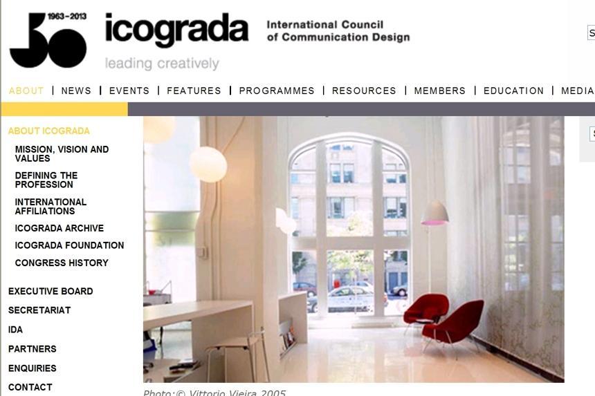 Od roku 1963 do 15. 12. 2014 - to byla Icograda...