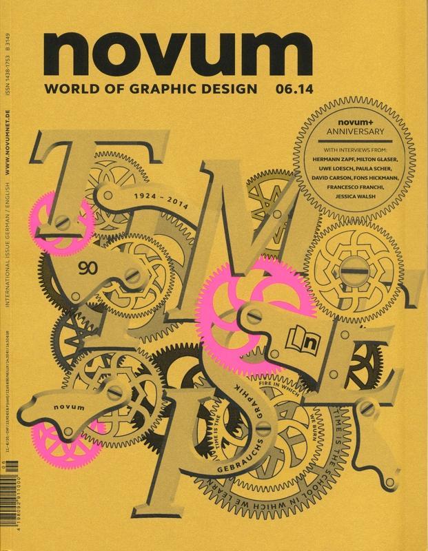 Obálka je vytištěna na kartonu Fedrigoni 290 g/m2 UV-ofsetem s neonově růžovými detaily v sítotisku, je zalakována třpytivým bezbarvým lakem a některé detaily i části textů jsou zvýrazněny reliéfním lakem