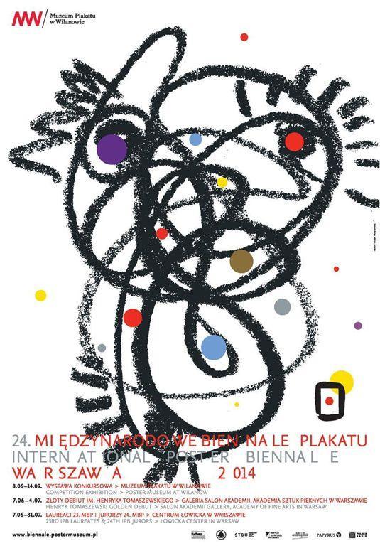 Autorem plakátu 24. IPB je Darek Komorek