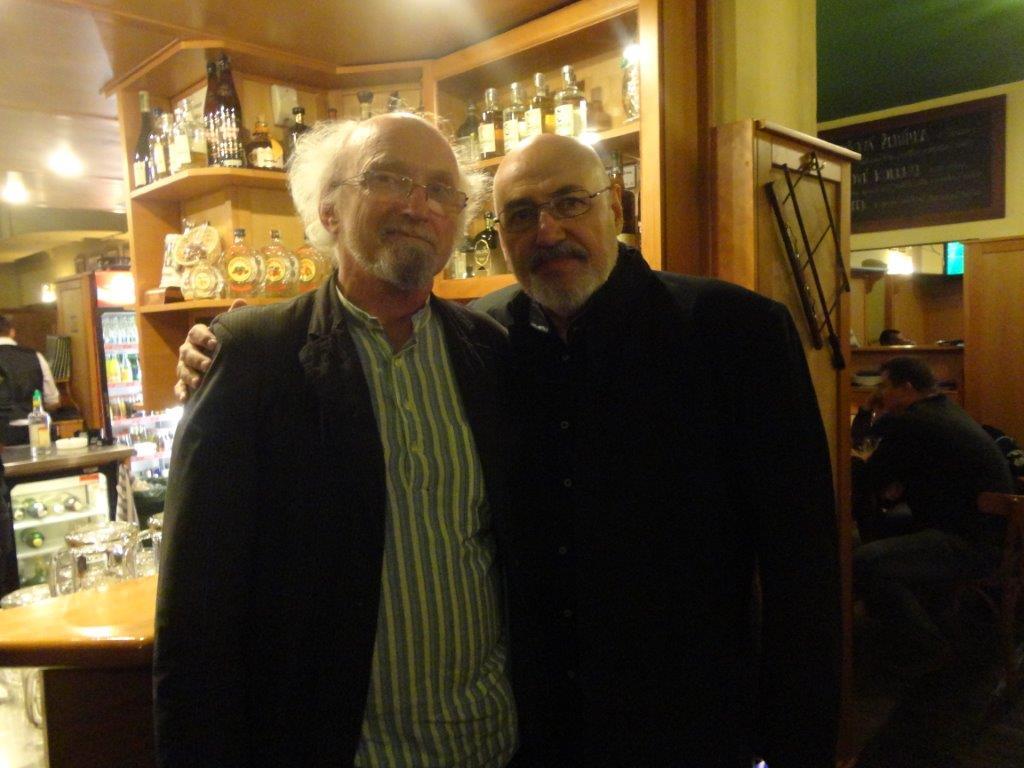 Sergej Serov a Jan Rajlich ml. v Brně 20. 6. 2014, foto Alena Rajlichová