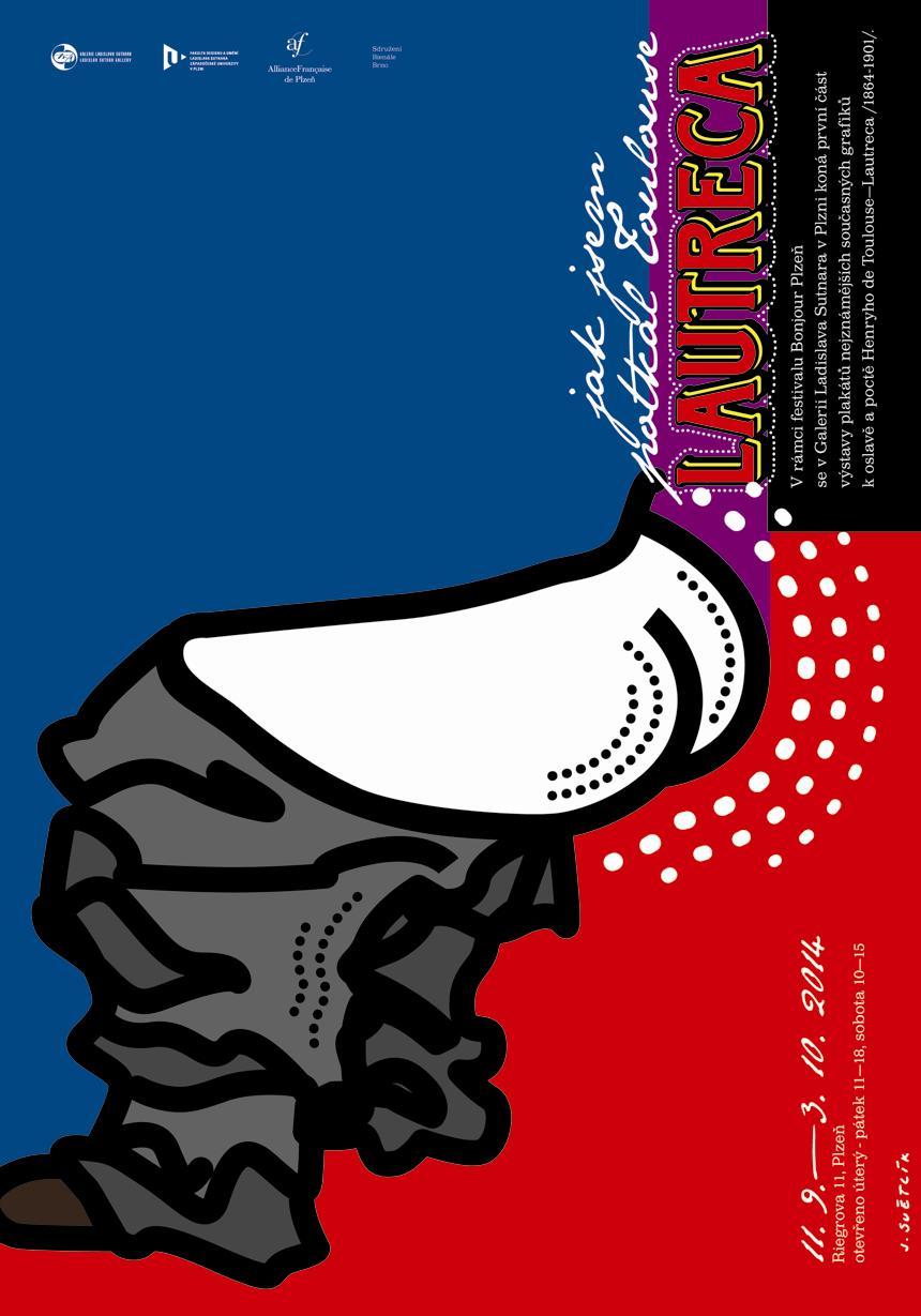 Plakát k výstavě z dílny Jiřího Světlíka