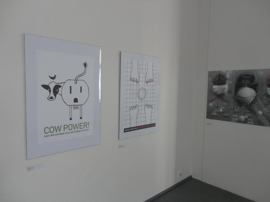 Dva ocenené plagáty Alice Druedingové a Joe Scorsoneho
