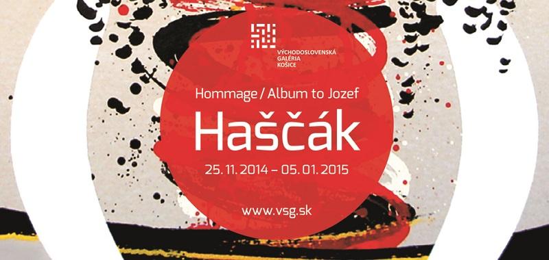 """Pozvánka na výstavu """"Album Jozefa Haščáka"""""""