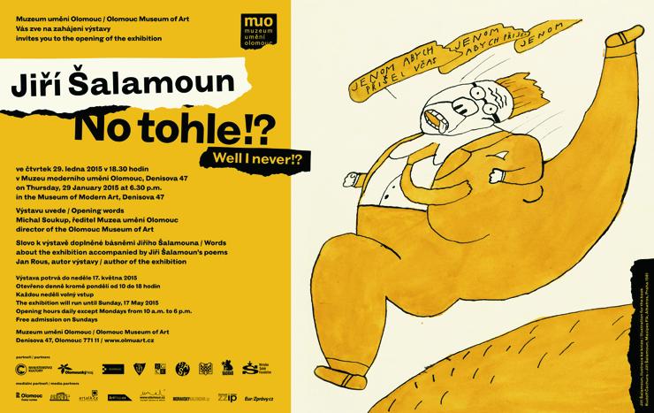 K jubileu Jiřího Šalamouna je otevřena velká výstava v Muzeu moderního umění Olomouc, která potrvá (od. 29. 1.) až do 17. 5. 2015