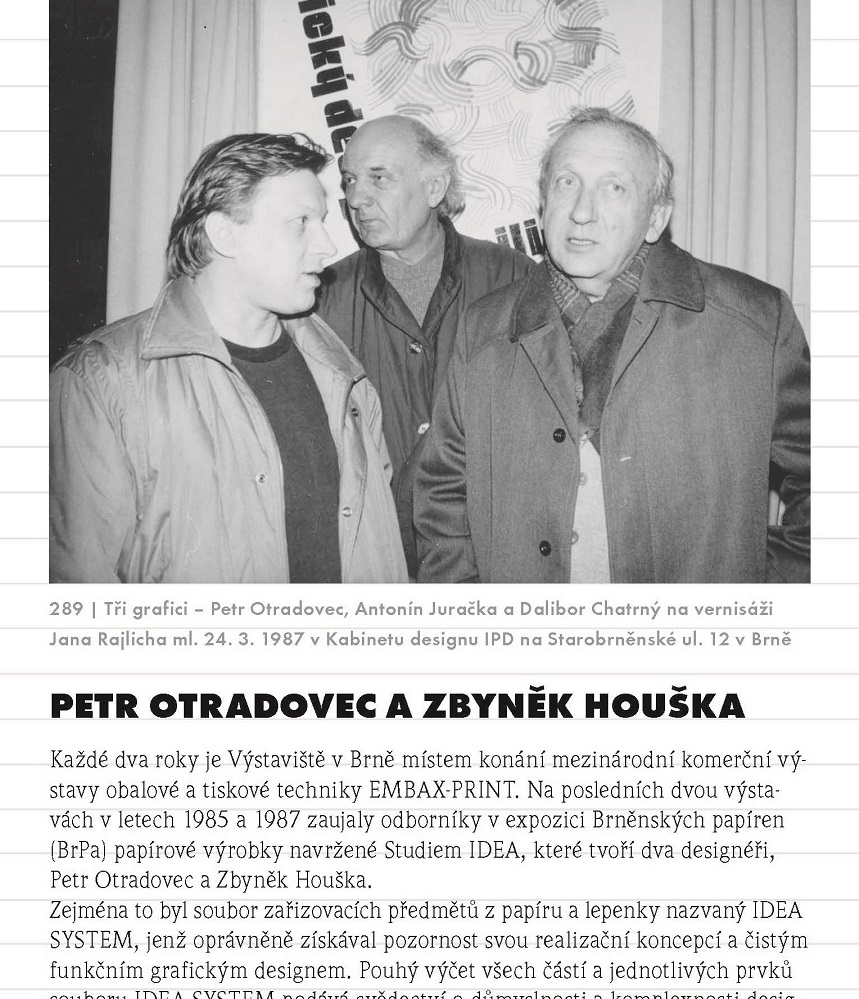 """Petr Otradovec, z knihy Jana Rajlicha st. """"Brno - černá bílá"""", CERM 2015"""