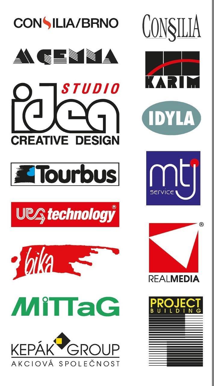 Značky Petra Otradovce (Studio Idea) 1985-2005