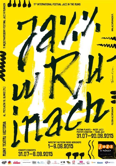 Jazz in Ruins, plakát Tomasze Kipky