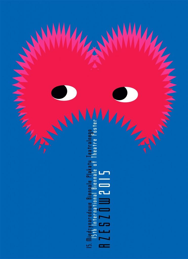Krzysztof Motyka: plakát 15. bienále