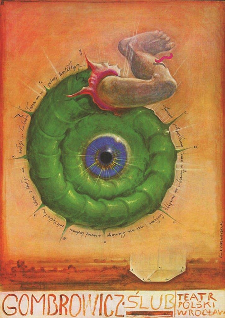 Franciszek Starowieyski, divadelní plakát 1975