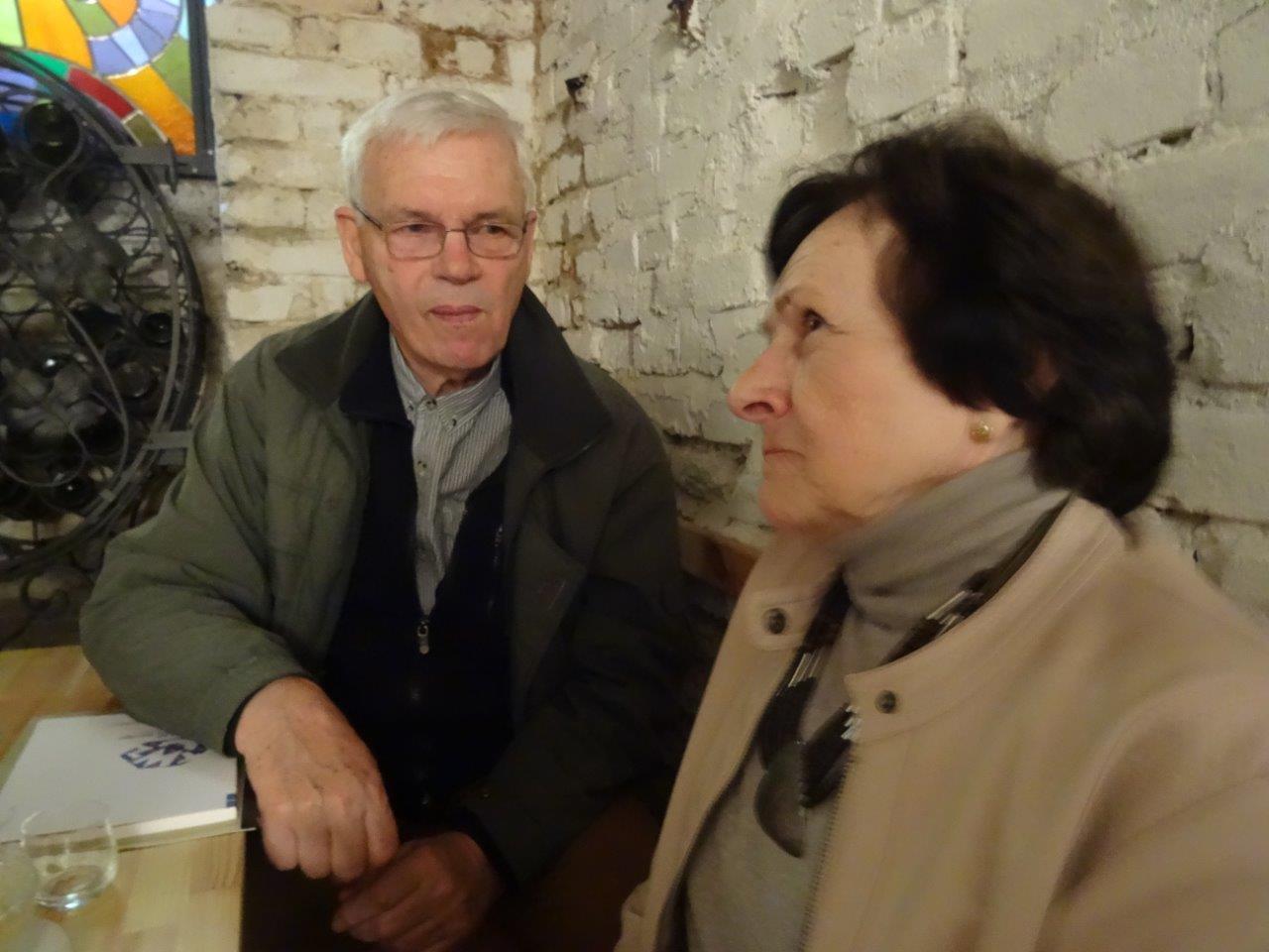 PhDr. Václav Svoboda, Ludmila Puklová