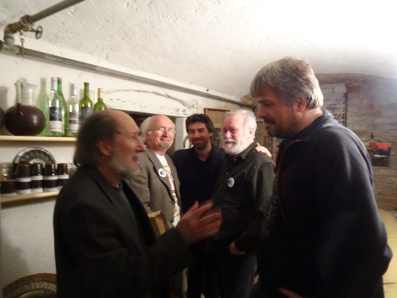 Dušan Junek, Jan Rajlich, Andrej Haščák, František Borovec, Pavel Noga