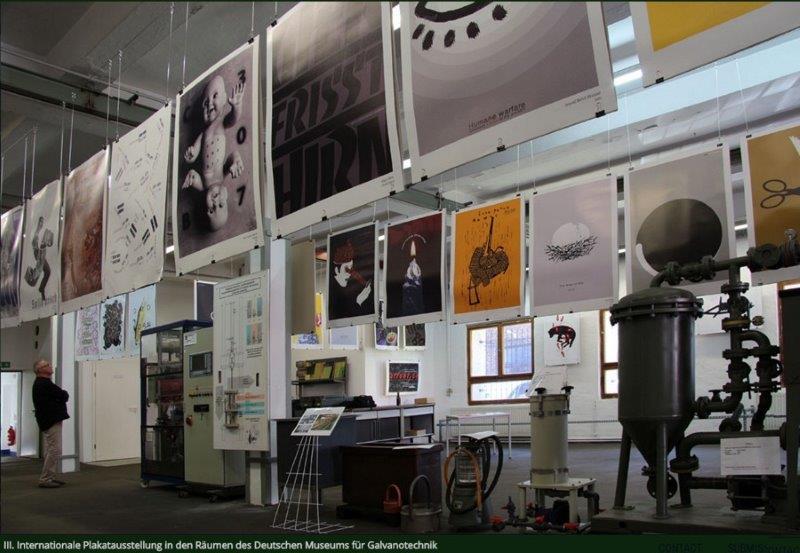 Z výstavy v lipském Muzeu galvanotechniky